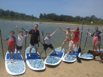 SUP Lessons with Burrill Lake SUP
