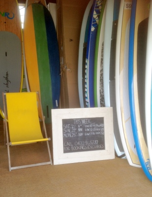We have a large range in sizes of SUP boards available.